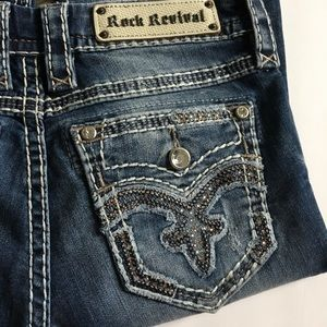 Rock Revival Jeans - Rock Revival Raylea Boot Jeans size 27